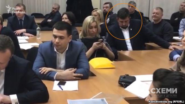 Олег Недава на заседании, где рассматривали апелляцию «Эконики»