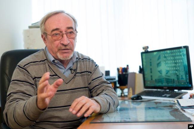 Леонид Ринк, апрель 2018 года