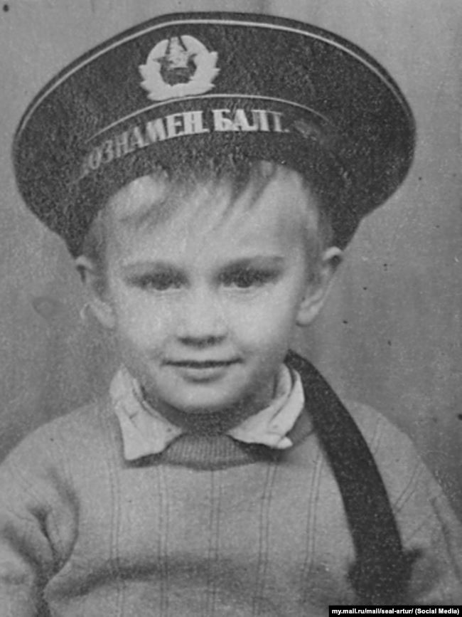 Артур Таланов в детстве
