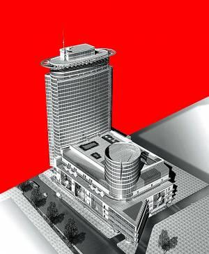 Континенталь c= двумя= офисными= башнями= в= 2010