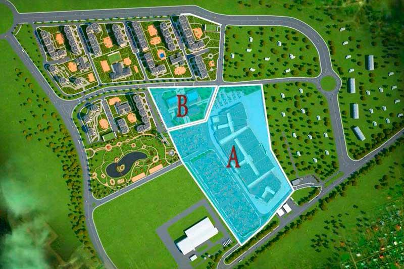 Таким по задумке должен был стать новый ЖК «Сити Парк»