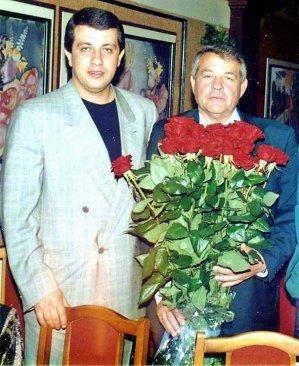 Сергей батозский= со= своим= отцом