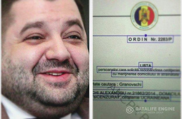 Александр Грановский двойное гражданство, паспорт
