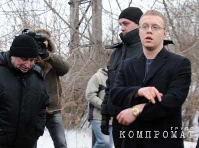 Андрей Валерьевич Гартунг (справа) в естественной среде обитания
