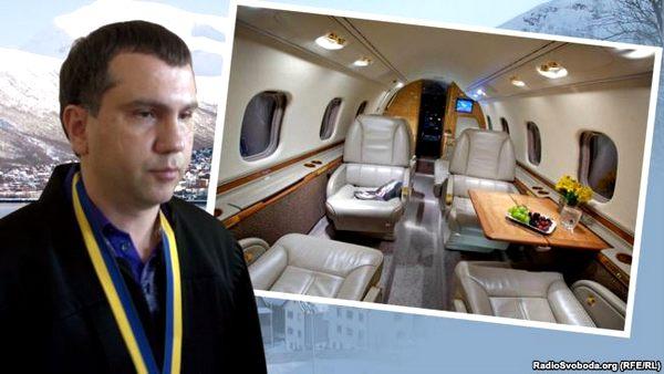 Председатель Окружного админсуда Киева летал в Норвегию на частном самолете