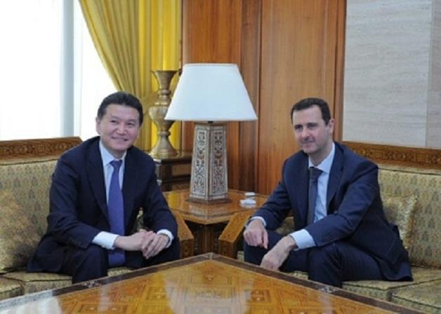 UBS объявил шах Кирсану Илюмжинову